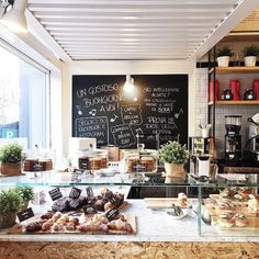 Fiore market cafe restaurant ideas cafe restaurant, coffee s My Coffee Shop, Coffee Shop Design, Coffee Cafe, Coffee Shops, Bakery Cafe, Bakery Design, Restaurant Design, Restaurant Ideas, Workspaces Design