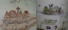 Gli enigmatici disegni (1618) di Blas Valera
