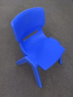 Blue Child Chairs Suitable for ages Easily Stackable for transporting Kids Party Tables, Adjustable Height Table, Party Hire, Colorful Chairs, Little People, Table And Chairs, Colours, Toys, Children