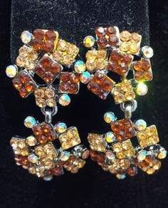 in celebration of fall check out these beautifully coloured earrings! perfect for an occasion!