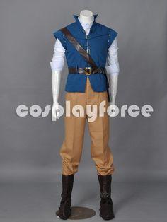 Tangled Prince Flynn Rider Cosplay Costume por cosplayforce en Etsy