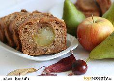 Jablečný chlebíček s hruškou recept - TopRecepty.cz Baked Potato, Muffin, Potatoes, Treats, Baking, Breakfast, Ethnic Recipes, Sweet, Food