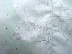 Plan cadastral d'Erdeven, section A, 1811.