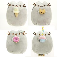 Kawaii Pusheen Cat Plush Toys 5 Styles