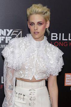 WHO: Kristen Stewart  WHERE: Billy Lynn's Long Halftime Walk premiere, New York City  WHEN: October 14, 2016