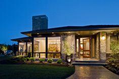 Exterior - contemporary - exterior - portland - Kaufman Homes, Inc.