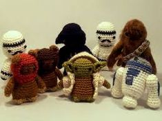 Image result for free crochet amigurumis star wars