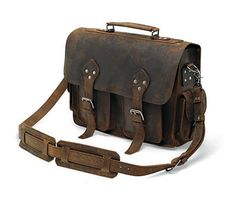 Vintage Classic Rare Mens Leather Briefcase by PremiumGreatshop, $199.90