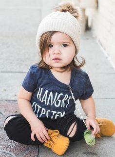 """LHangry Hipster Toddler Shirt Baby Shirt Toddler Tee Baby Girl Clothing Baby Shirt Baby Clothes"