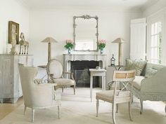 Gustavian  sitting-room