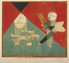 Paul Klee - The march to the summit, 1922