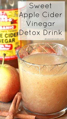 Apple Cider Detox Drink Recipe | Divas Can Cook