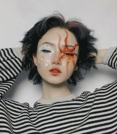Alien Aesthetic, Popular People, Boy Meets World, Fantasy Makeup, Makeup Inspiration, Makeup Looks, Halloween Face Makeup, Make Up, Hair