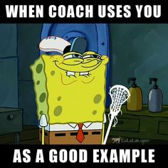 The best feeling ever, am I right? :D For your daily dose of lacrosse inspiration, quotes, and memes, follow our Lacrosse Inspiration board! LuLaLax.com #lacross