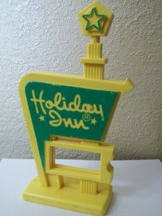 Vintage Kitsch Holiday Inn Sign  1970's by thewildrecluse on Etsy, $8.50