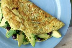 The Candida Diet Avocado Omelet! No sugar, dairy-free, nutritious, and extremely healthy. Avocado and eggs are two of the best ways to create a satisfying meal while you're treating your Candida, and this recipe contains a good helping of both.