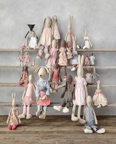 Ob Hasen, Katzen oder Mäuse...in der großen Stofftier-Familie von Maileg wird jedes Kind fündig :)
