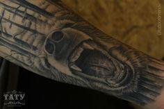 tattoo bear - @tattooromanov