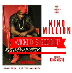 """Thursday night we at Tonic times Square (top floor ) for my """"Wicked Is Good"""" Ep release let's take Jersey to NYC  and turn up for this part 1of this movie   hosted by @kingmuziq_ & @jumzinc  LADIES FREE BEFORE 12 $5 SHOTS ALL NIGHT !!! 4BOTTLES FOR $500  #capetowngeneral #brotherhood  #IMI #InnovativeMusicInc #BH #C2F #Brotherhood #artisttowatch #dj #indiemusic #indienation #record #studiolife #supportthemovement #NewMusicAlert #NewVideo #Single #SingleRelease #NewMusic #MusicVideo #NewAlbum…"""
