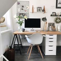 Home Office Decor Home Office Space, Home Office Design, Home Office Decor, Office Furniture, Desk Space, Office Ideas, Office Inspo, Desk Ideas, Study Room Decor