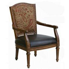 Gorgeous high back arm chair
