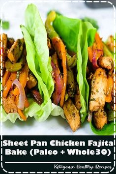 We are huge fans of tacos, fajitas and pretty much anything with Mexican flavors! And of course we love simple, quick and easy meals. Healthy Eating Recipes, Vegan Recipes Easy, Clean Eating Snacks, Healthy Dinner Recipes, Real Food Recipes, Chicken Recipes, Vegetarian Recipes, Simple Recipes, Healthy Chicken