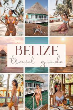 If you are planning a trip or honeymoon to Belize, check out this guide and find out how to get there, the best places to stay, where to eat, the best beaches in Belize, and more. #traveldestinations #honeymoons | best places to stay in Belize | Belize honeymoon resorts | Belize vacation things to do | Belize vacation outfits what to wear | Belize vacation where to stay | Belize photography beautiful | Belize photography beach resorts | Belize Honeymoon, Belize Vacations, Belize Travel, Beach Resorts, Central America, North America, Honeymoons, Vacation Outfits, Beautiful Islands