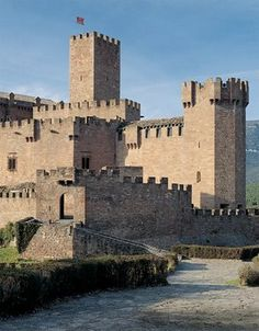 Javier Castle ~ Navarro, Spain