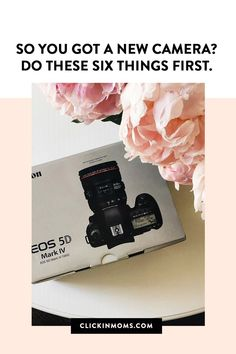 We know how overwhelming it can be when you get that new camera in your hands. But don't worry, we're here to help. Follow these simple steps and you'll be well on your way to using that camera confidently. Edit Your Photos, Photography Tips For Beginners, Photo Look, Photo Tips, Photography Business, Photo Sessions, Cameras, Canon, Lenses