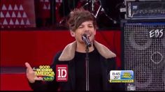 One Direction Perform Midnight Memories - Good Morning America. You're killin me styles!!