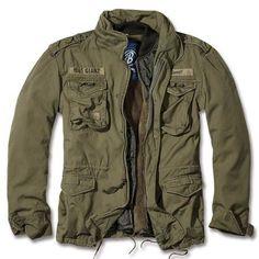 Herren Jacke Parka Schimanski Style in Navy Cooler Style