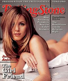 Jennifer Aniston on Rolling Stone