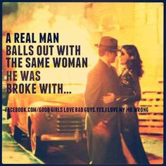 A Real Man Balls Out With The Same Woman He Was Broke With... ♡Ṙ!dĘ╼óR╾D!Ê♡