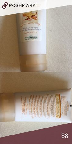 Healing hand cream Healing hand cream with shea butter warm vanilla sugar never been used Bath and body works Other