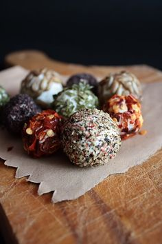 Labneh Balls...obviously Im becoming obsessed! You can roll labneh into balls and cover with a multitude of herbs.