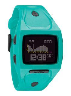 Love it! Nixon The Small Lodown Black Teal - Surf Horloges