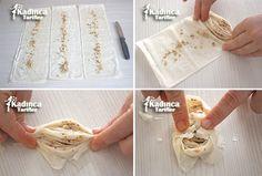 Büzme Baklava Tarifi Baklava Recipe, Pastry Art, Yummy Food, Sweets, Bread, Delicious Food, Gummi Candy, Candy, Brot