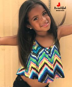 Brooke Marie - 3 Years • Mom: African American, Native American & Creole • Dad: Mexican & Irish ♥️