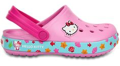 79508f8053c8 Crocs Carnation   Neon Magenta Crocband Hello Kitty Clog Shoes from Crocs  on Catalog Spree