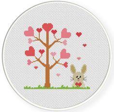FREE for Feb 14th Only - Love Season Cross Stitch Pattern