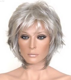 Short Hair Styles For Older Women 2017 Easy Care - Bing - Short Thin Hair, Short Grey Hair, Short Hair Styles Easy, Short Hair With Layers, Short Hair Cuts For Women, Medium Hair Styles, Short Layered Haircuts, Cute Hairstyles For Short Hair, Short Hairstyles For Women