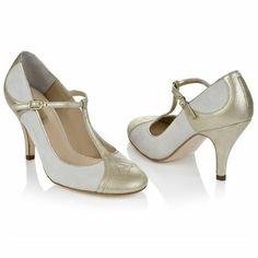 Art Deco Bridal Shoes  Rachel Simpson New Collection -   Emily