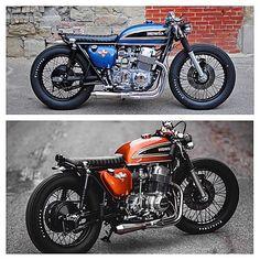 Top or bottom? Honda Cb750, Cb750 Cafe, Ducati, Scrambler, Cb 750 Cafe Racer, Triumph Cafe Racer, Custom Cafe Racer, Cafe Bike, Cafe Racer Bikes
