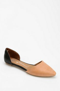 Jeffrey Campbell In Love Leather D'Orsay Flat #urbanoutfitters