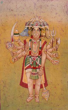 Five-Headed Hanumana