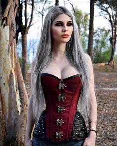 Hot gothic chicks having sex — 3