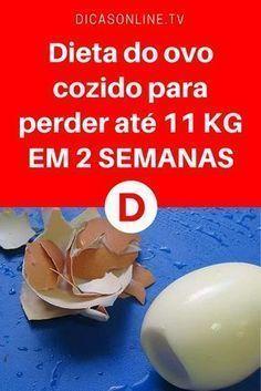 Emagrecer com ovo | Dieta do ovo cozido para perder até 11 KG EM 2 SEMANAS | Aprenda a receita e comece já!