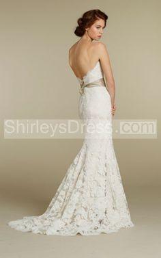 8165e54b4b6d Modern Lace Wedding Dresses from Spring 2012 Bridal Fashion Week