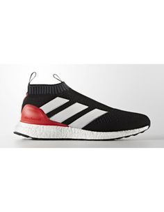 new style 12ed9 d3dfd Scarpa Adidas Ace 16+ Purecontrol Ultra Boost Red Limit Nere Bianche Rosse  Prezzo Moderato