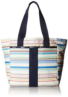 LeSportsac Women's Everyday Tote Travel Daisy Tote -- Check out the image by visiting the link. Amazon Affiliate Program's Ads.